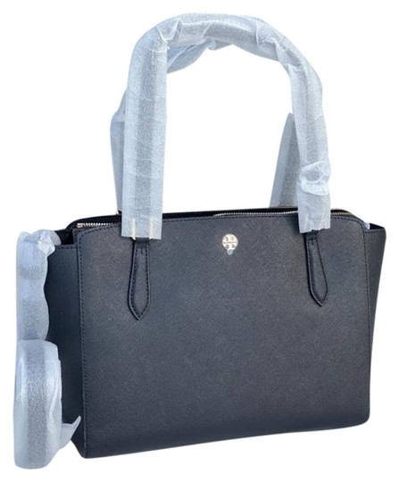 Preload https://img-static.tradesy.com/item/26354268/tory-burch-emerson-64188-small-top-zip-with-strap-black-leather-tote-0-3-540-540.jpg
