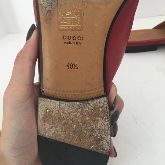 Gucci red Flats Image 4