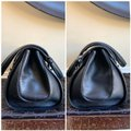 Gucci Tom Ford Monogram Leather Canvas Satchel in Black Image 4
