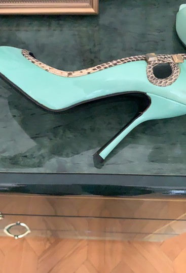 Versace Collection very light turquoise/blue Platforms Image 1