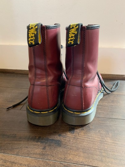 Dr. Martens Cherry Red Boots Image 1
