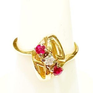Other BEAUTIFUL!! GENUINE DEWITT ESTATE COLLECTION!! Yellow Gold, Diamond and Ruby Ring