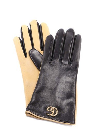 Gucci Gg Leather gloves size 8 Image 1