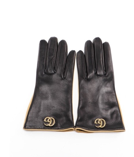 Gucci Gg Leather gloves size 8 Image 3