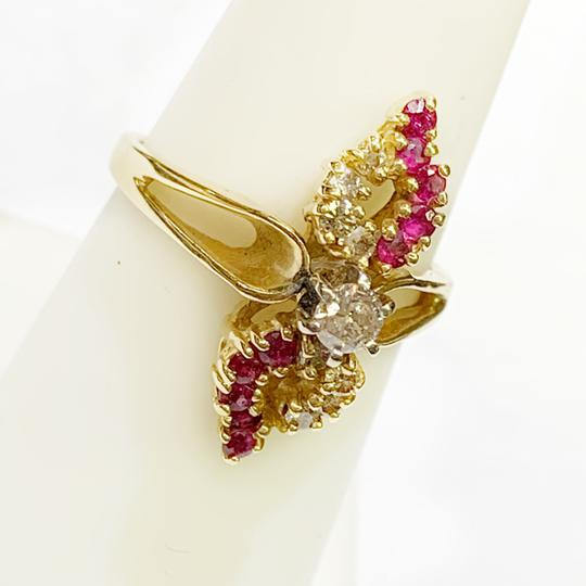 Other BEAUTIFUL!! GENUINE DEWITT ESTATE COLLECTION!! 14 Karat Yellow Gold, Diamond and Ruby Ring Image 1