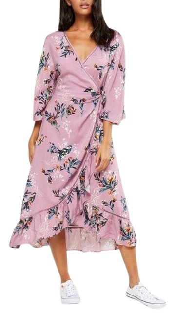 Preload https://img-static.tradesy.com/item/26354502/cotton-on-multicolor-kimono-xs-woven-satin-wrap-sleeve-mid-length-cocktail-dress-size-0-xs-0-2-650-650.jpg