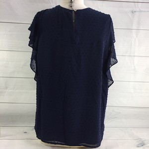 Daniel Rainn Spring Summer Chic Gold Hardware Top navy