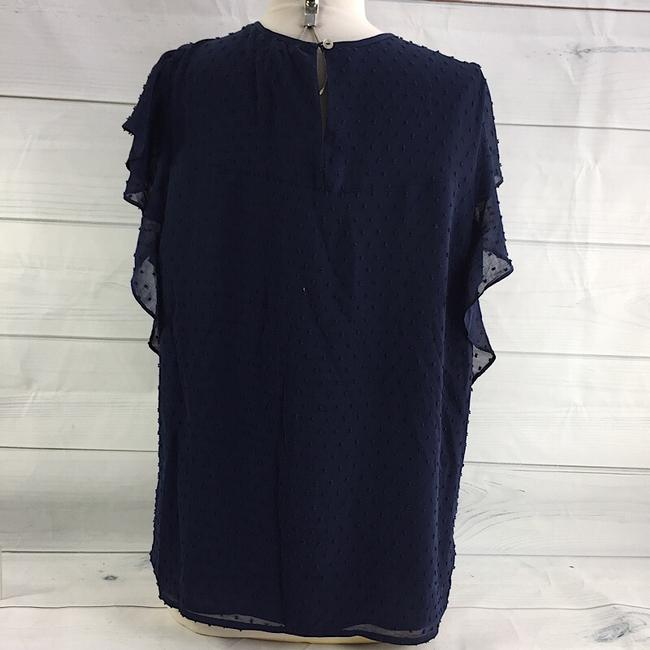 Preload https://img-static.tradesy.com/item/26354577/daniel-rainn-navy-dr2-by-sleeveless-front-tassel-knit-blouse-tank-topcami-size-16-xl-plus-0x-0-0-650-650.jpg