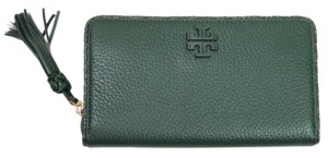 Tory Burch Tory Burch Taylor Zip Around Leather Wallet Dessert spice