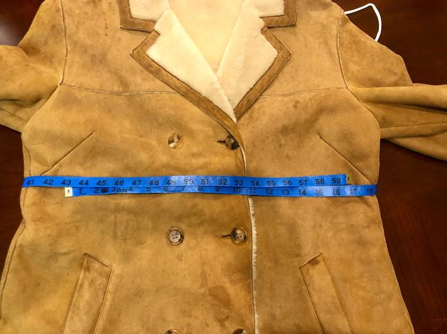 Burberry Tan Leather Jacket Image 6