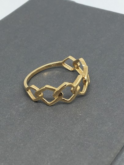 other 14K Yellow Gold Open Link Style Ring Image 1
