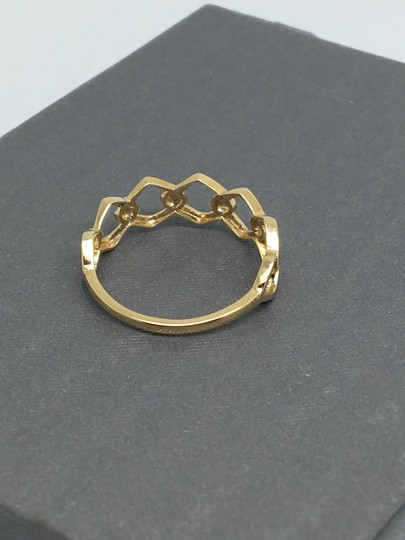 other 14K Yellow Gold Open Link Style Ring Image 2