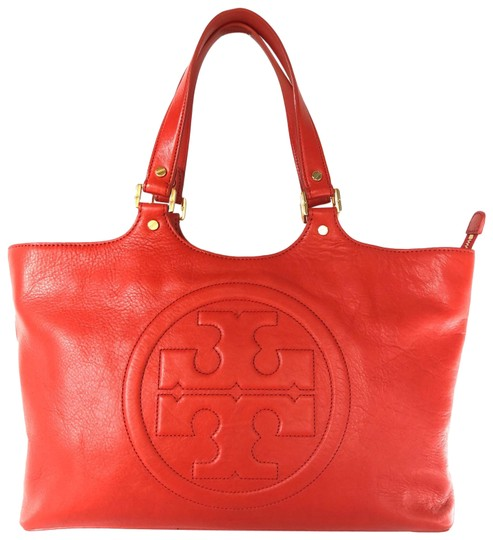 Preload https://img-static.tradesy.com/item/26354662/tory-burch-bombe-red-leather-tote-0-2-540-540.jpg