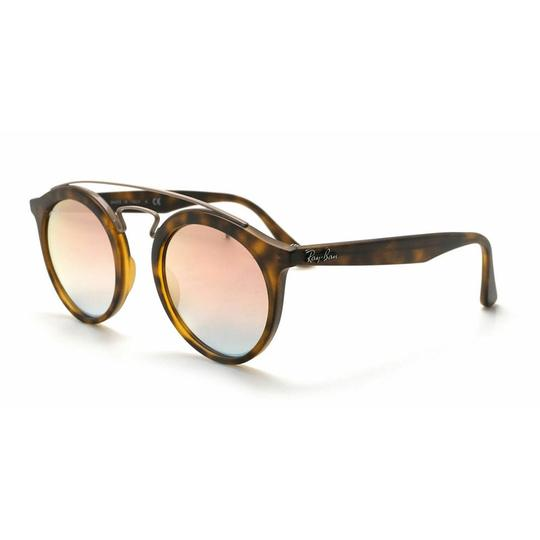 Preload https://img-static.tradesy.com/item/26354664/ray-ban-matte-tortoise-frame-and-copper-mirrored-gradient-lens-rb4257-6267b9-gatsbyii-round-women-s-0-0-540-540.jpg