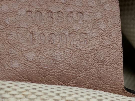 Gucci Gg Soho Shoulder Leather Tote Image 11