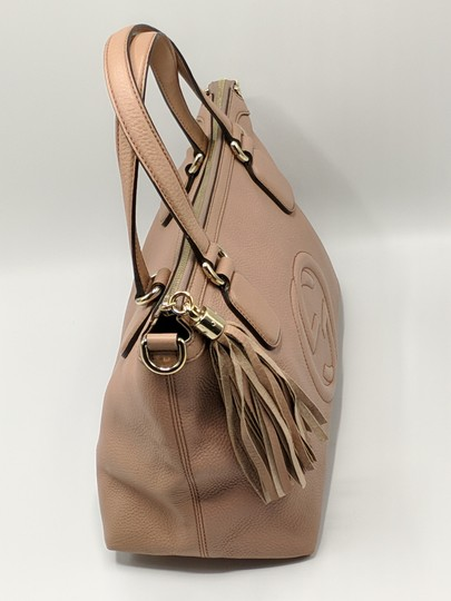 Gucci Gg Soho Shoulder Leather Tote Image 8