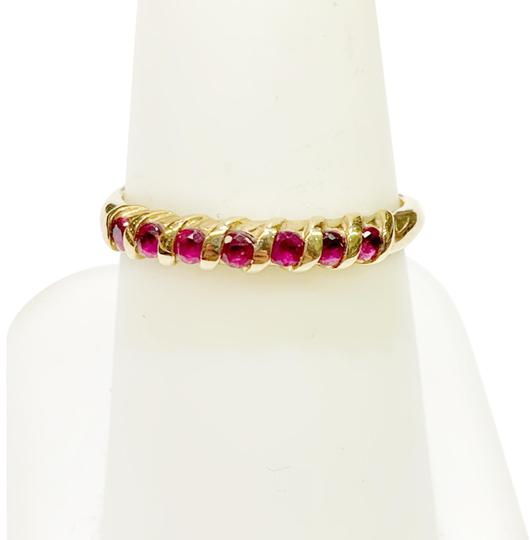 Preload https://img-static.tradesy.com/item/26354675/genuine-dewitt-estate-collection-14-karat-yellow-gold-and-ruby-ring-0-3-540-540.jpg
