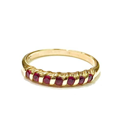 Other BEAUTIFUL!! GENUINE DEWITT ESTATE COLLECTION!! 14 Karat Yellow Gold and Ruby Ring Image 3