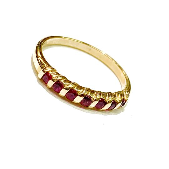 Other BEAUTIFUL!! GENUINE DEWITT ESTATE COLLECTION!! 14 Karat Yellow Gold and Ruby Ring Image 4
