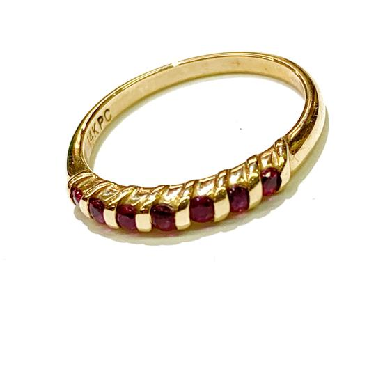 Other BEAUTIFUL!! GENUINE DEWITT ESTATE COLLECTION!! 14 Karat Yellow Gold and Ruby Ring Image 5