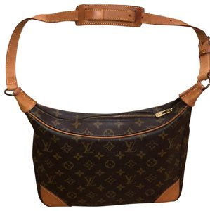 Louis Vuitton brown gold Travel Bag