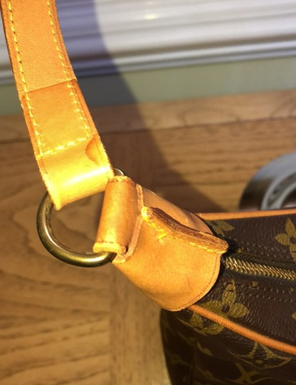 Louis Vuitton brown gold Travel Bag Image 4