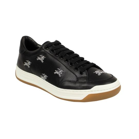 Burberry Leather Laces Chunky Embroidered Black Athletic Image 1
