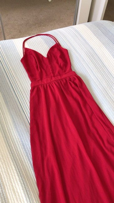 Red Maxi Dress by Lulu*s Image 1