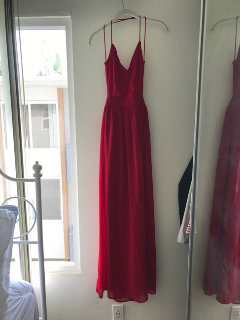 Red Maxi Dress by Lulu*s Image 3