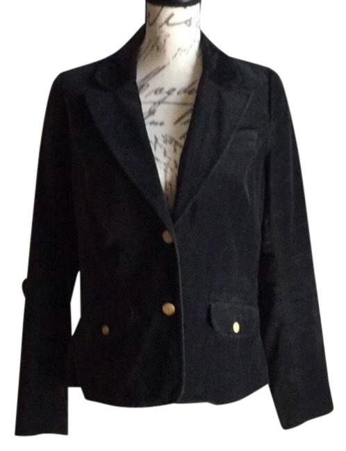 Preload https://img-static.tradesy.com/item/26354743/old-navy-black-velour-blazer-size-8-m-0-2-650-650.jpg