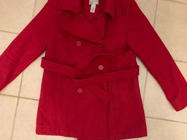 Old Navy Wool Belted Double Breasted Pea Coat Image 1