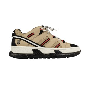 Burberry Leather Laces Chunky Beige Athletic