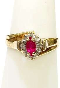 Other BEAUTIFUL!! GENUINE DEWITT ESTATE COLLECTION!! 10 Karat Yellow Gold and Ruby Ring