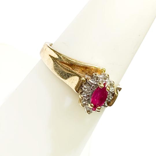 Other BEAUTIFUL!! GENUINE DEWITT ESTATE COLLECTION!! 10 Karat Yellow Gold and Ruby Ring Image 1