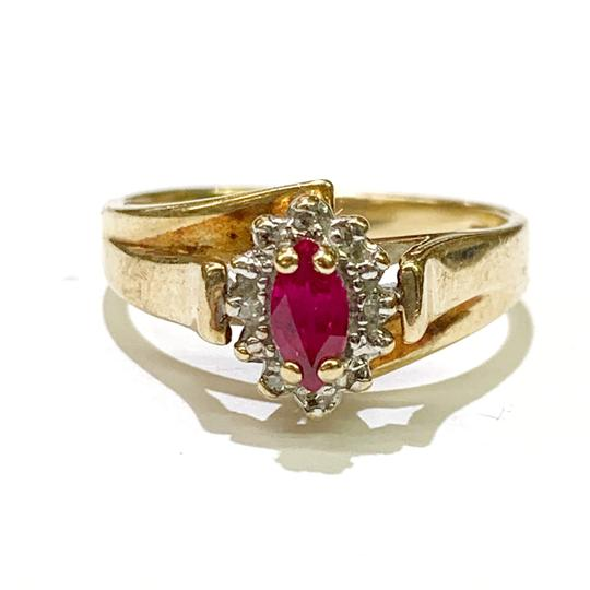 Other BEAUTIFUL!! GENUINE DEWITT ESTATE COLLECTION!! 10 Karat Yellow Gold and Ruby Ring Image 3