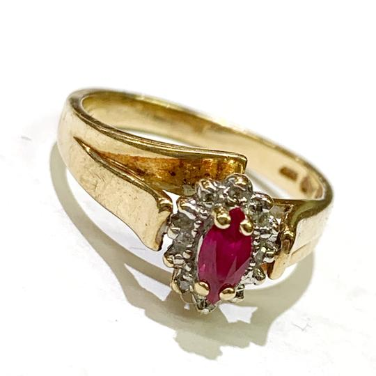 Other BEAUTIFUL!! GENUINE DEWITT ESTATE COLLECTION!! 10 Karat Yellow Gold and Ruby Ring Image 4