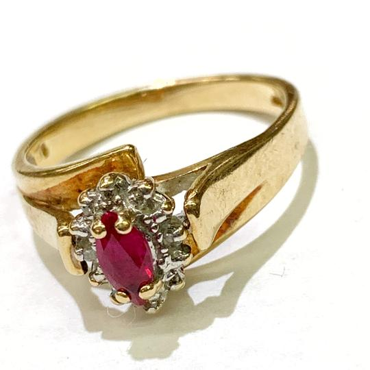Other BEAUTIFUL!! GENUINE DEWITT ESTATE COLLECTION!! 10 Karat Yellow Gold and Ruby Ring Image 5
