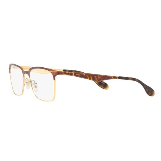 Preload https://img-static.tradesy.com/item/26354780/ray-ban-gold-havana-frame-and-demo-lens-rx6344-2917-56-unisex-rectangular-0-0-540-540.jpg