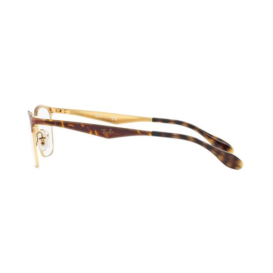 Ray-Ban Demo Lens RX6344 2917 56 Unisex Rectangular Image 2