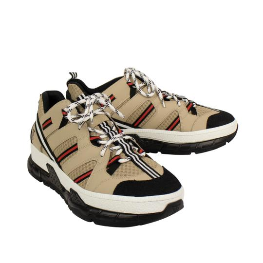 Burberry Leather Laces Chunky Beige Athletic Image 2