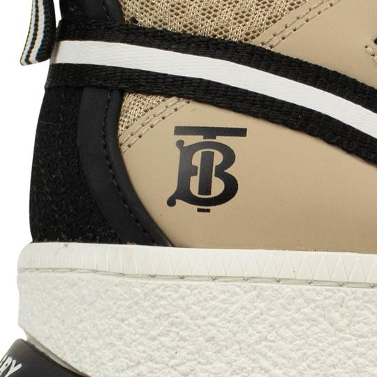 Burberry Leather Laces Chunky Beige Athletic Image 6