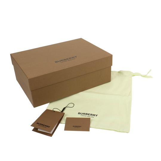 Burberry Leather Laces Chunky Beige Athletic Image 9
