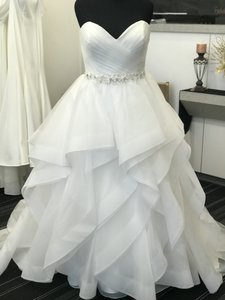 Ivory Tulle 50489 Traditional Wedding Dress Size 16 (XL, Plus 0x)