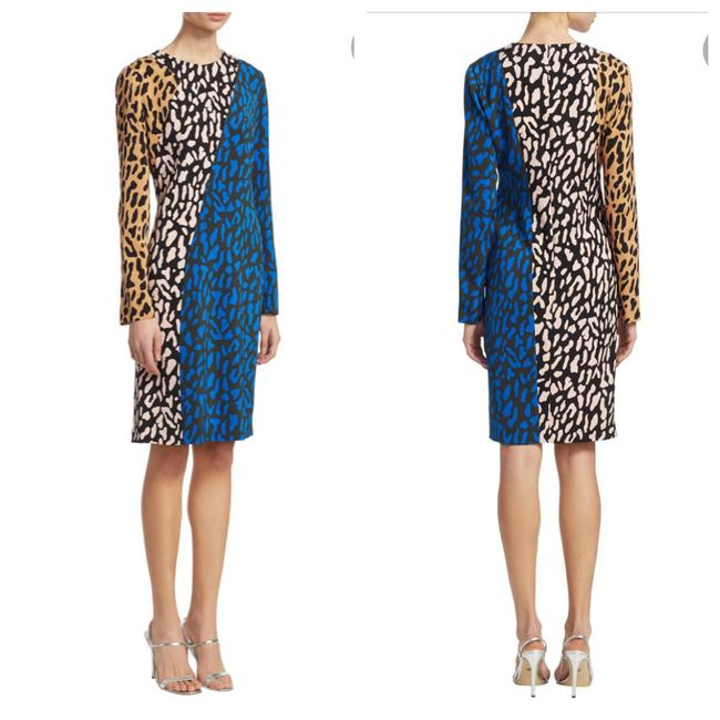 Preload https://img-static.tradesy.com/item/26354807/diane-von-furstenberg-colorblock-leopard-print-workoffice-dress-size-6-s-0-0-650-650.jpg