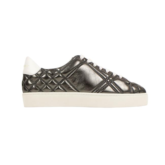 Item - Gray Westford Quilted Leather Sneakers Size EU 37.5 (Approx. US 7.5) Regular (M, B)