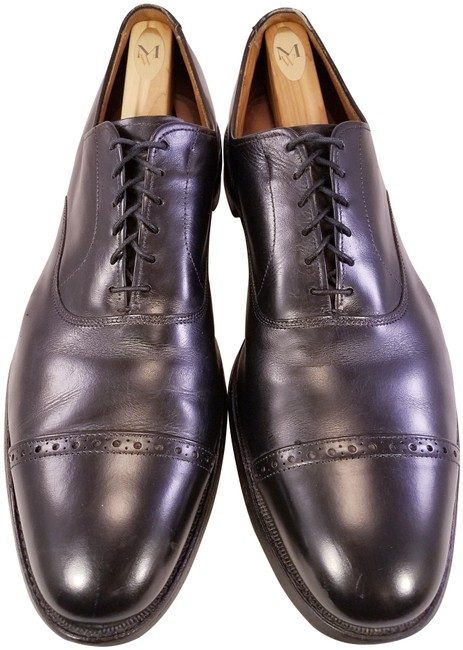 Item - Black Fifth Avenue Leather Man Captoe Oxfords B Formal Shoes Size US 13 Regular (M, B)