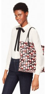 Kate Spade Tote in Black, Red and Pink