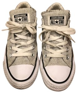 Grey Converse Sneakers Up to 90% off at Tradesy