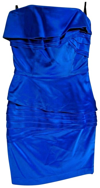 Item - Blue Bodycon Short Night Out Dress Size 2 (XS)