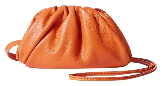 Bottega Veneta The Pouch Mini Leather Clutch Bottega Veneta The Pouch Mini Leather Clutch Image 1